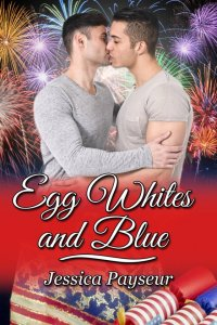 Egg Whites and Blue [Print]