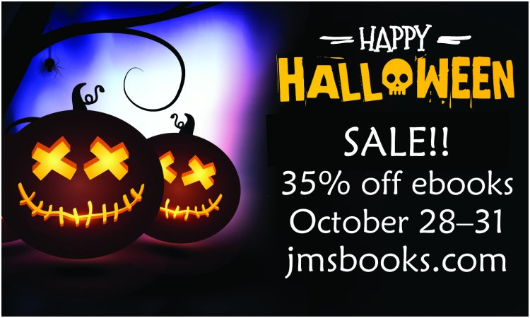 Halloween Sale! Save 35% off ebooks October 28 to 31