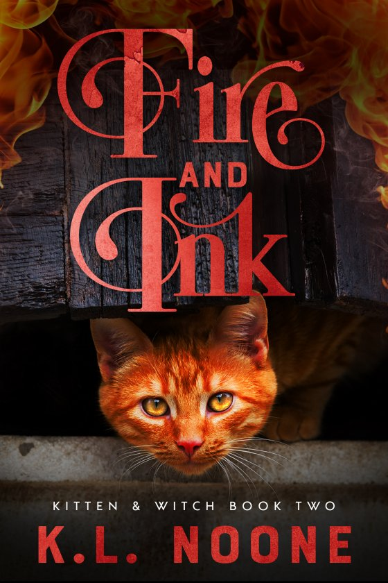 <i>Fire and Ink</i> by K.L. Noone