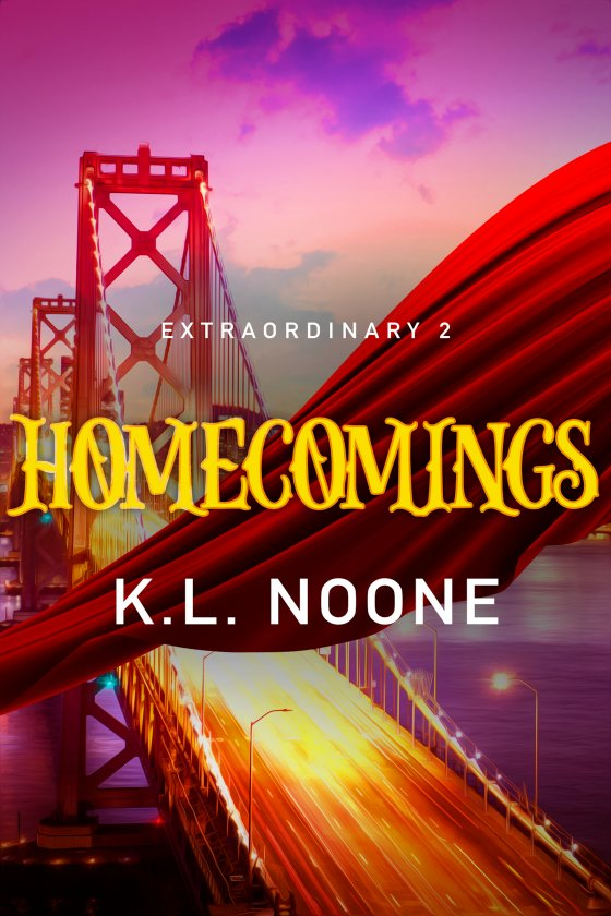 <i>Extraordinary Book 2: Homecomings</i> by K.L. Noone