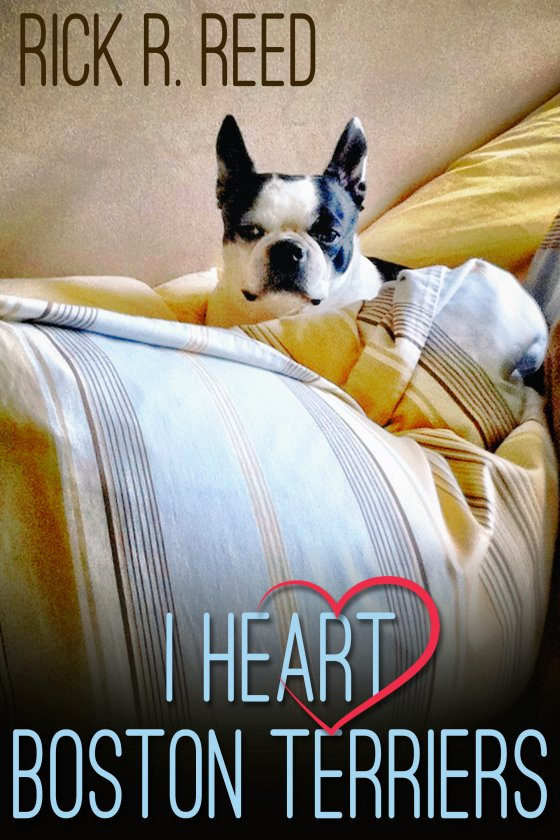 I Heart Boston Terriers by Rick R. Reed