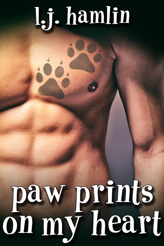 <i>Paw Prints on My Heart</i> by L.J. Hamlin