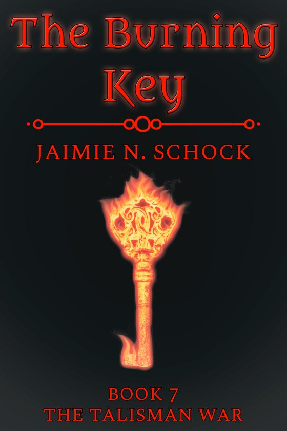 <i>The Burning Key</i> by Jaimie N. Schock